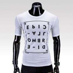 Pánske tričko Confusion biela