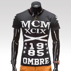 Pánske tričko Modern Čierna