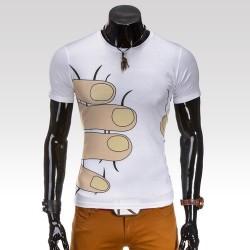 Pánske tričko Squeeze biela