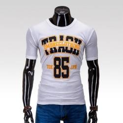 Pánske tričko Track biela