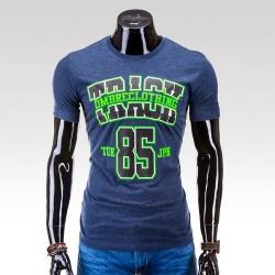 Pánske tričko Track tmavo modrá