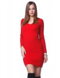 5ebede60d441 Červené mini šaty veľkosť ONE SIZE (od XS - do M) - Locca.sk