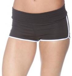 Športové krátke nohavice Čierna