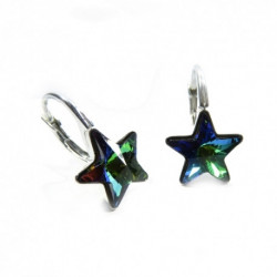 Náušnice krásne hviezdy 10 mm – farba Crystal VM For You Nau-hviezdy-004