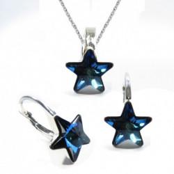 Set hviezdy 10 mm – farba Bermuda Blue For You Set-hviezda-001