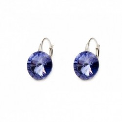 Náušnice Rivoli 10 mm TANZANITE For You Nau-rivoli10-017