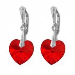 Náušnice srdce 14,4x14 mm LIGHT SIAM For You Nau-srdce-017