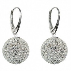 Náušnice Swarovski Discoball 14 mm – Crystal For You Nau-disco-1