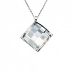 Prívesok šachovnicový 10 mm Crystal - bez retiazky For