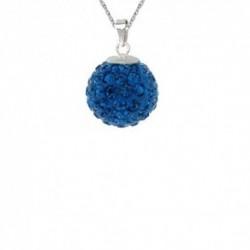 Prívesok Swarovski Discoball 12 mm – Capri Blue For You