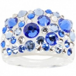 Prsten swarovski BUBBLE SAPPHIRE 53 For You Prs-bubble-002