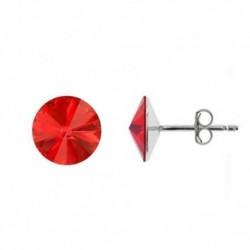 Rivoli 6 mm vo farbe LIGHT SIAM – napichovačky For You Nau-rivoli6-033