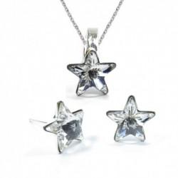 Set hviezdy 10 mm – farba Crystal – napichovačky For