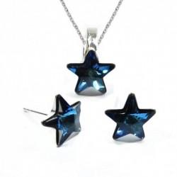 Set hviezdy 10 mm – farba Bermuda Blue – napichovačky For You Set-hviezda-001b