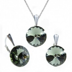Set Rivoli 12 mm BLACK DIAMOND For You Set-rivoli12-012