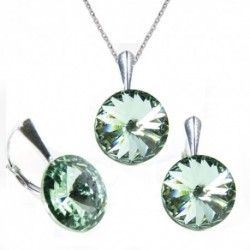 Set Rivoli 12 mm CHRYSOLITE For You Set-rivoli12-017