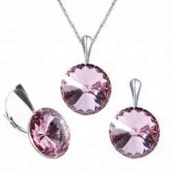 Set Rivoli 12 mm LIGHT ROSE For You Set-rivoli12-015