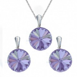 Set Rivoli 12 mm VIOLET For You Set-rivoli12-021
