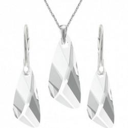 Set šperkov v tvare krídla CRYSTAL For You Set-kridla-001