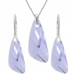 Set šperkov v tvare krídla PROVENCE LEVANDER For You Set-kridla-002