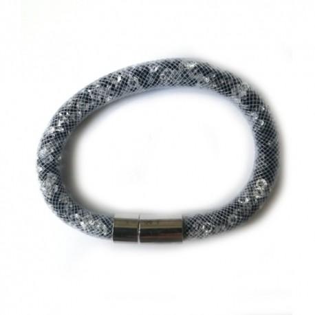 Náramok swarovski mesh CRYSTAL-JET For You Nar-104b