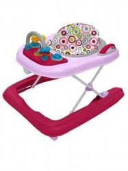 <p>Detské chodítko Baby Mix 2v1 pink</p> ružová