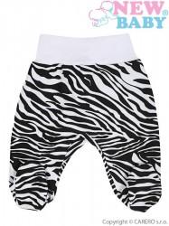 <p>Dojčenské polodupačky New Baby Zebra</p> biela