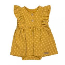 Dojčenské šatôčky-body s krátkym rukávom Nicol Michelle podľa obrázku