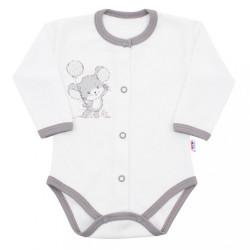 14-dielna luxusná dojčenská súprava New Baby Little Mouse v EKO krabičke biela #4
