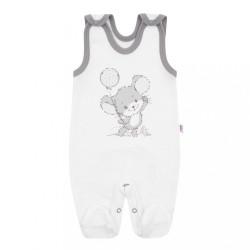 14-dielna luxusná dojčenská súprava New Baby Little Mouse v EKO krabičke biela #6