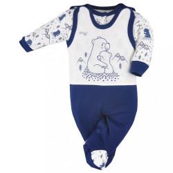 2-dielna dojčenská súprava Koala Tajga modrá