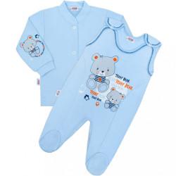 2-dielna súpravička New Baby teddy modrá