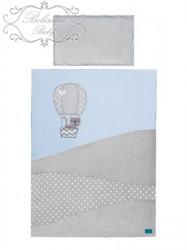 2-dielne posteľné obliečky Belisima Balón 100x135 modré #2