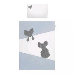 2-dielne posteľné obliečky Belisima Mouse 90/120 modré