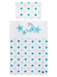2-dielne posteľné obliečky Belisima Veselé Hviezdičky 90/120 modré