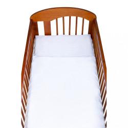 2-dielne posteľné obliečky New Baby 90/120 cm biele