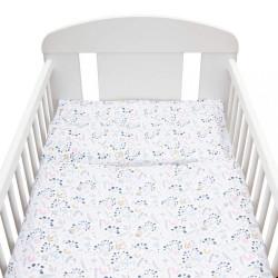 2-dielne posteľné obliečky New Baby 90/120 cm Jarabina biele