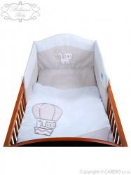 3-dielne posteľné obliečky Belisima Balón 100x135 modré