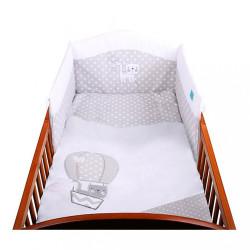 3-dielne posteľné obliečky Belisima Balón 90/120 biele