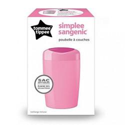 Kôš na plienky Sangenic Simplee Tommee Tippee ružový