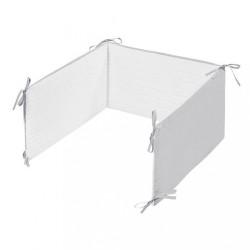 5-dielne posteľné obliečky Belisima Králiček 90/120 bielo-sivé #1