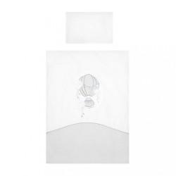 6-dielne posteľné obliečky Belisima Ballons 100/135 sivé
