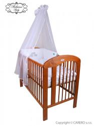 6-dielne posteľné obliečky Belisima Little Man 100/135 sivé