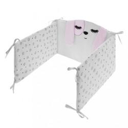 6-dielne posteľné obliečky Belisima Lovely Puppy 100/135 ružové #1