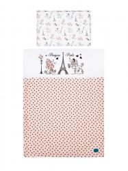 6-dielne posteľné obliečky Belisima Paris 100/135 ružové