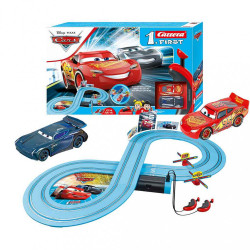 Autodráha Carrera FIRST Cars - Power Duell 2,4 m multicolor