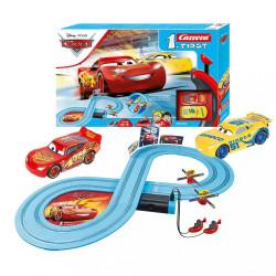 Autodráha Carrera FIRST Cars - Race of Friends 2,4 m multicolor