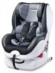 Autosedačka CARETERO Defender Plus Isofix grey 2016 sivá