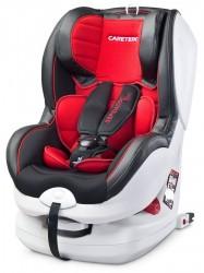 Autosedačka CARETERO Defender Plus Isofix red 2016 Červená