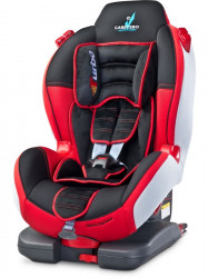 Autosedačka CARETERO Sport TurboFix red 2016 Červená